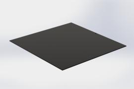 Noire intermédiaire sans bords 15 x15 cm pour plateau pralines 16 x16 cm