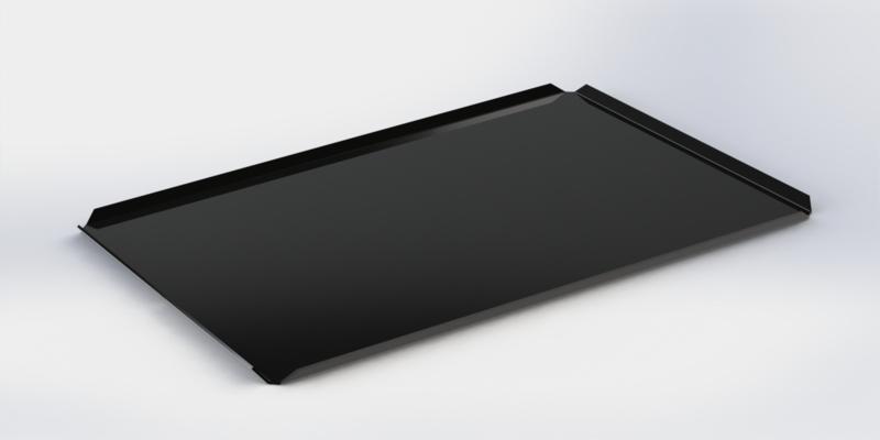 Zwarte plateau 30 cm x 40 cm