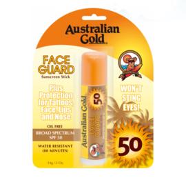 Australian Gold SPF 50 face guard