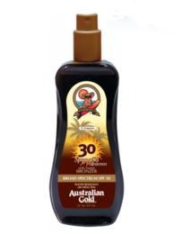 Australian Gold SPF 30 met bronzer