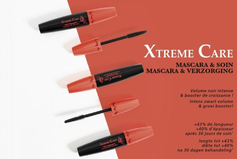 Xtreme Care mascara en wimperserum in 1
