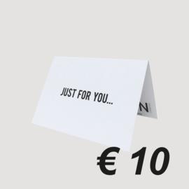 LNPN CADEAUBON '10 EURO'