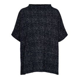 OPUS  PONCHO 'AMBERLEY ANIMAL, BLUE'