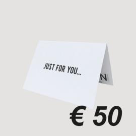 LNPN CADEAUBON '50 EURO'