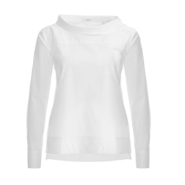 OPUS  BLOUSE 'FEONIE SOLID, WHITE'