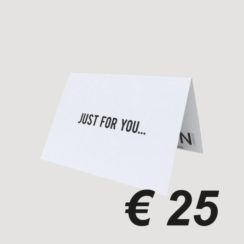 LNPN CADEAUBON '25 EURO'