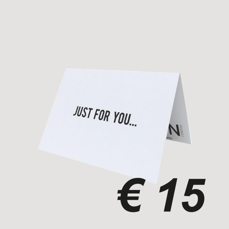 LNPN CADEAUBON '15 EURO'