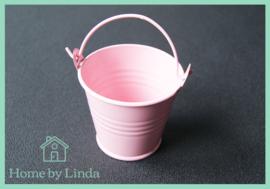Geschenkemmertje roze 6 cm x 5 cm x 4,2 cm (per stuk)