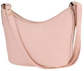 Nicole Brown Schoudertas roze, ecoleder 19 x 30 cm FB261