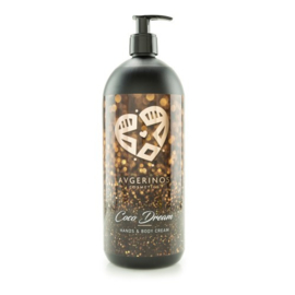 Coco Dream Hands and Body Cream 1 liter