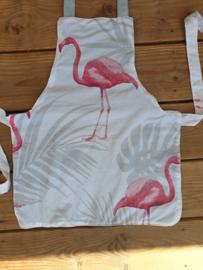 Schort: Flamingo