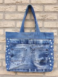 Kleine shopper: Indian Blue