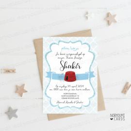 Uitnodiging | Shakir