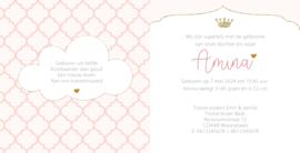 Geboortekaart   Amina