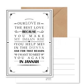 Kaart | Our love