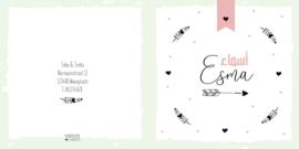 Geboortekaart   Esma