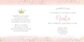 Geboortekaart |  Naïla