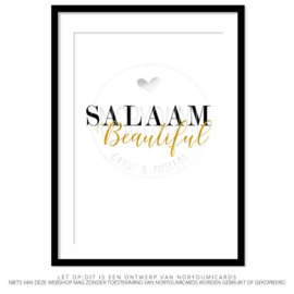 Poster |  Salaam Beautiful