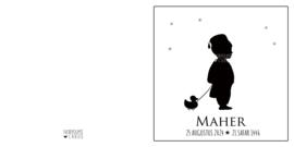 Geboortekaart | Maher