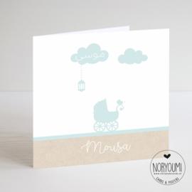 Geboortekaart  | Mousa