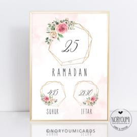Poster   Ramadan Pink