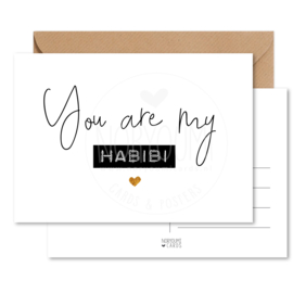 Kaart | You are my habibi