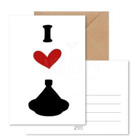 Kaart | I love tajine