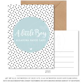 Kaart   A little boy