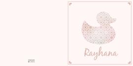 Geboortekaart   Rayhana