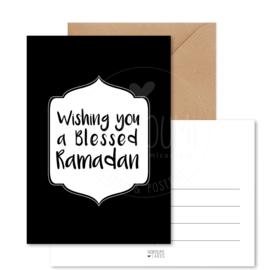 Kaart | A blessed Ramadan