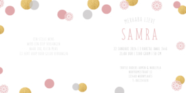 Geboortekaart |  Samra