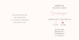 Geboortekaart | Soumaya