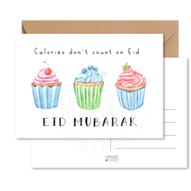 Kaart | Calories don't count on Eid