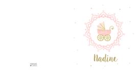 Geboortekaart |  Nadine