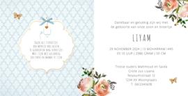 Geboortekaart | Liyam