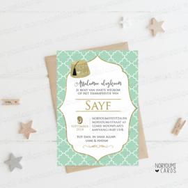 Uitnodiging | Sayf