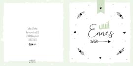 Geboortekaart | Ennes