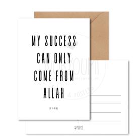 Kaart | My succes..