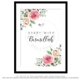 Poster | Start with Bismillah