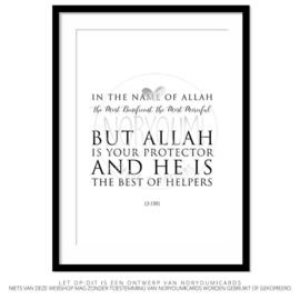 Poster | But Allah is your ...
