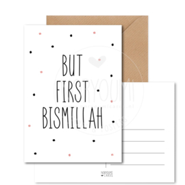 Kaart | But first bismillah