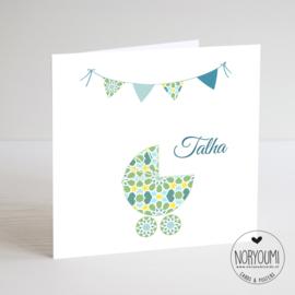 Geboortekaart | Talha