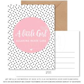 Kaart   A Little girl