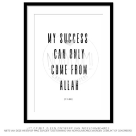 Poster | My succes can ...