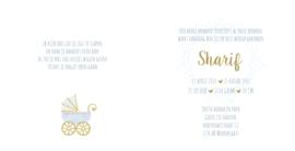 Geboortekaart  | Sharif