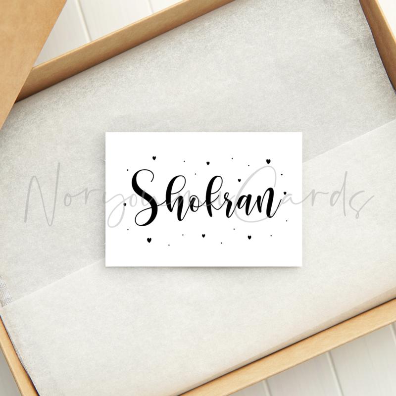 Minikaart | Shokran