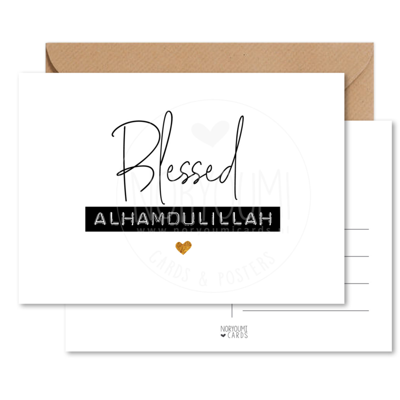 Kaart   Blessed alhamdulillah