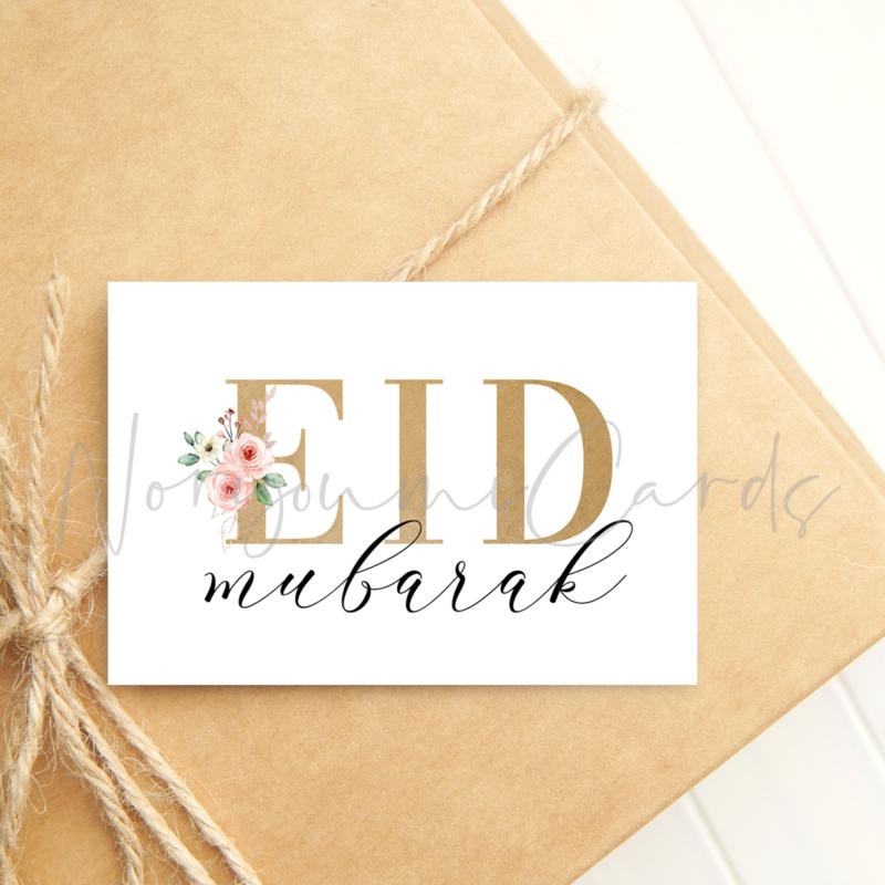 Minikaart   Eid mubarak