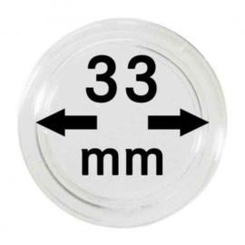 Muntcapsule 33 mm