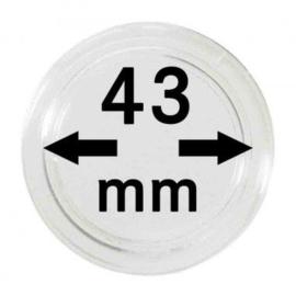 Muntcapsule 43 mm